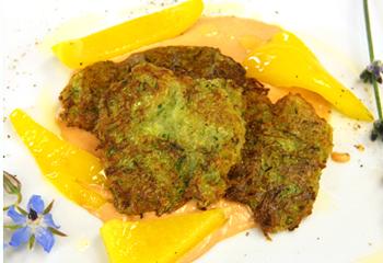 Kartoffel-Zucchini-Laibchen