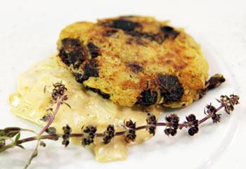 Famous Blunzenpuffer mit Senfkraut | Frisch Gekocht IW21