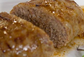 Faschierter Braten mit Stöcklkraut