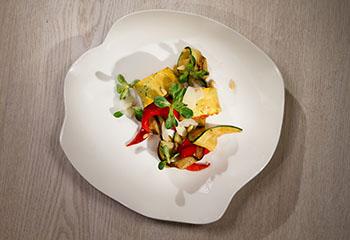 Zucchini-Auberginen-Roulade Foto: © ORF/Interspot