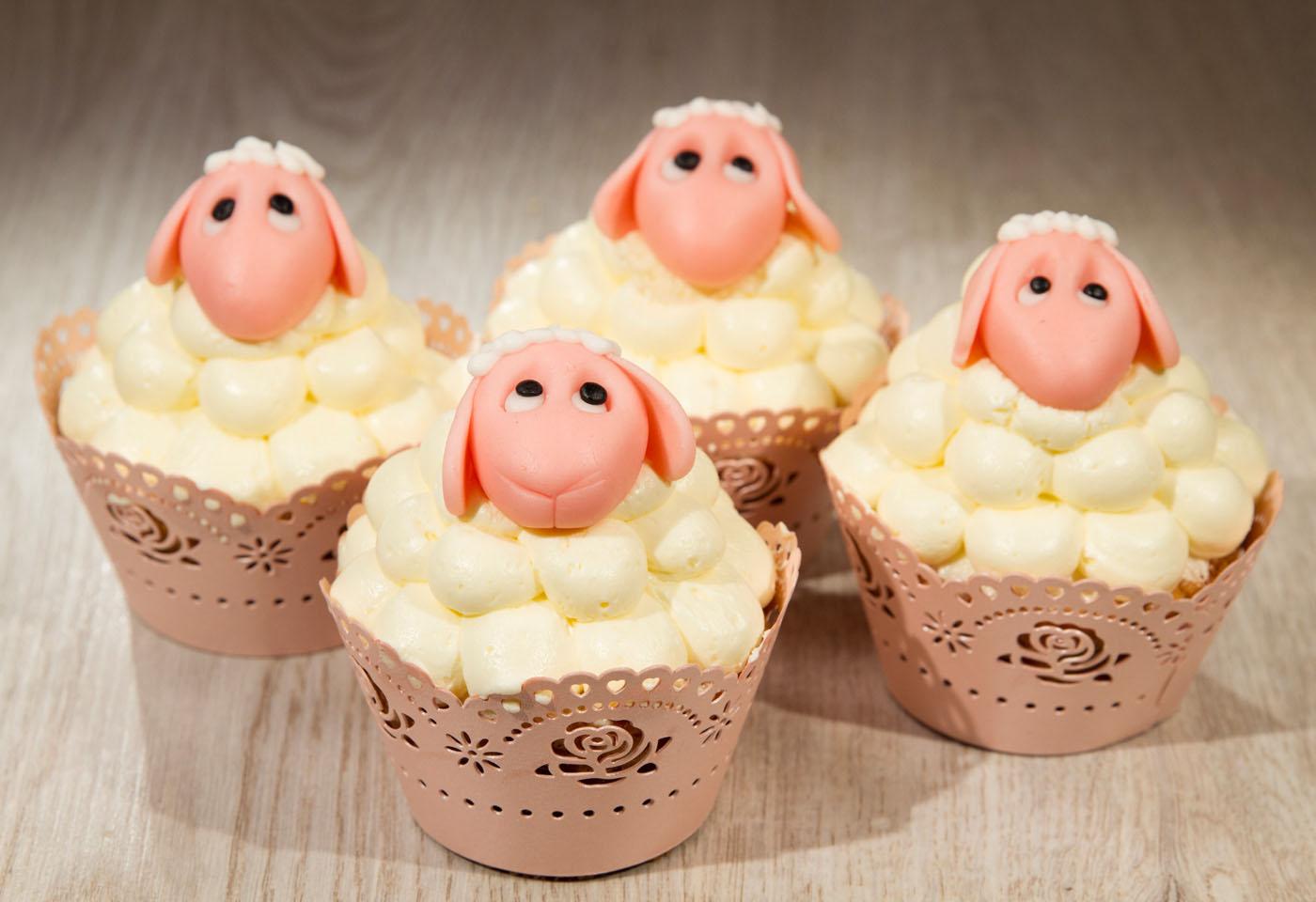 Schäfchen-Cupcakes | Frisch Gekocht