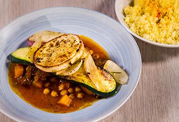 Lamm und Couscous auf levantinische Art Foto: © ORF/Interspot