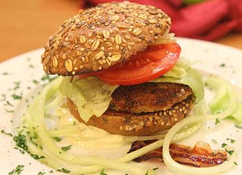 Vollkorn-Burger Felix