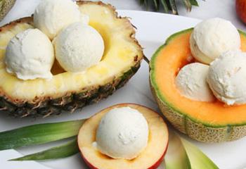 Joghurt-Vanille-Eis