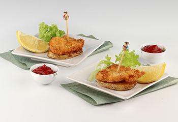 Mini-Wiener-Schnitzel mit Braterdäpfel
