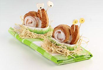 Duftende Zimtschnecken mit Zuckerglasur