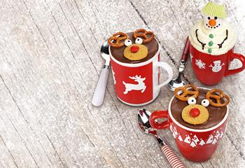 Weihnachtlicher Tassenkuchen