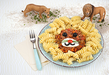 Pasta Bolognese gegen den Löwenhunger