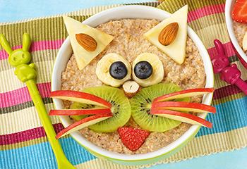 Power-Frühstück Porridge