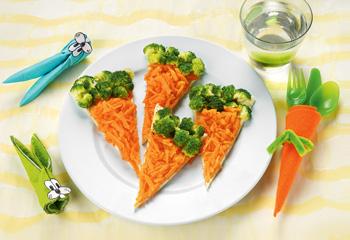Karotten-Flammkuchen