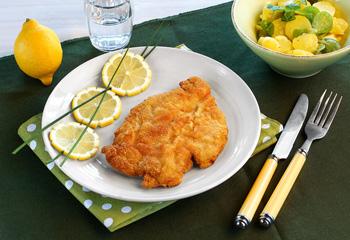 Hühnerschnitzel nach Wiener Art