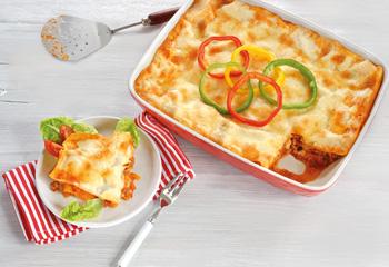 Olympische Lasagne