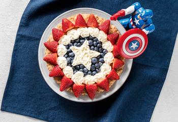 Captain America Tarte