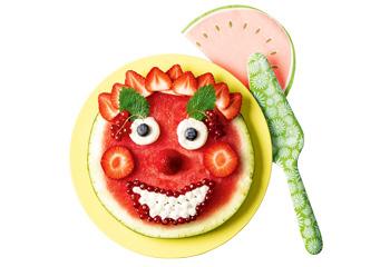Fruchtige Wassermelonen-Pizza