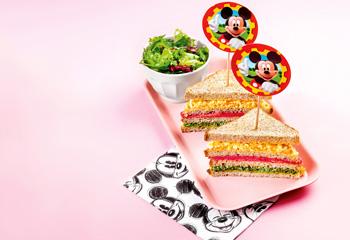 Micky Regenbogen-Sandwich