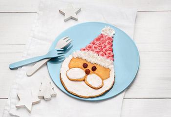 Pancake-Weihnachtsmann