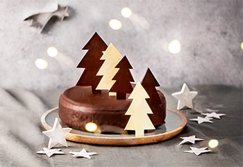 Schokoladige Lebkuchen-Torte