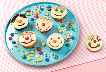 Freche Clown-Muffins