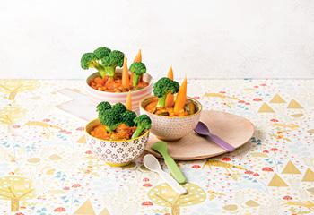 Gemüse-Kichererbsen-Eintopf