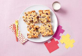Fruchtiger Puzzle-Kuchen
