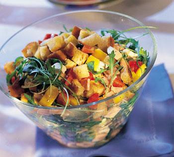 Mexikanischer Salat - Rezept von Muckenstruntz und Bamschabl