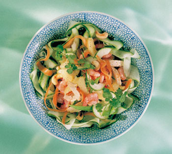 Grapefruit-Hühner-Salat (Thai)