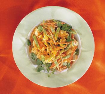 Karfiolsalat auf indische Art