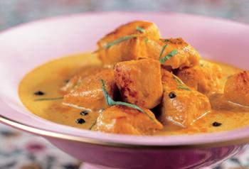Kali Mirch Murgh Curry-Hühnchen