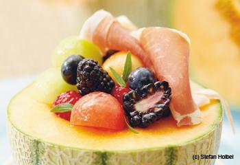 Melonen-Beeren-Salat