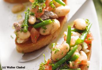 Bohnensalat mit Tafelspitz
