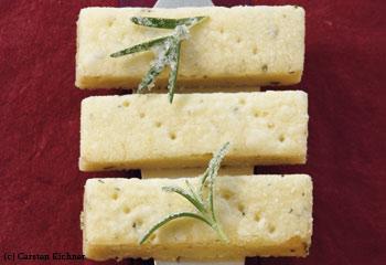 Rosmarin-Zitronen-Shortbread