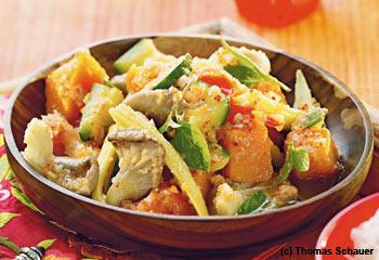 Aromatisches Hühner-Kokos-Curry