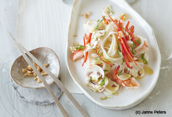 Stir Fry mit Austernpilzen