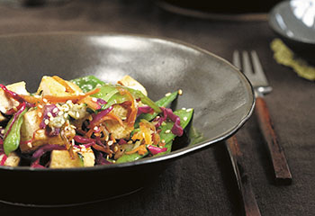 Wokgemüse mit Tofu Foto: © Jan Baldwin