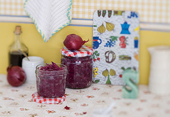 Marmelade von roten Zwiebeln Foto: © Monika Schürle