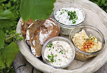 Kräuteraufstrich Foto: © Monika Schürle & Maria Grossmann