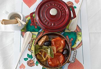 Tomaten-Lammtopf Foto: © Walter Cimbal