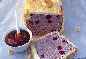 Hirsch-Cranberry-Pastete Foto: © Walter Cimbal