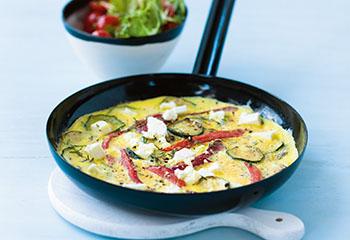 Gemüsepuffer mit Avocadodip Foto: © Wolfgang Schardt