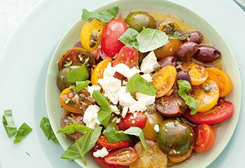 Paradeiser-Salat Foto: © Maria Grossmann & Monika Schürle