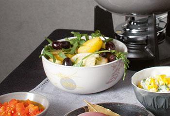 Erdäpfelsalat Foto: © Maria Grossmann & Monika Schürle
