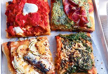 Pizzablech Foto: © Walter Cimbal