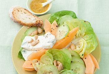 Fruchtiger Salat Foto: © Wolfgang Schardt
