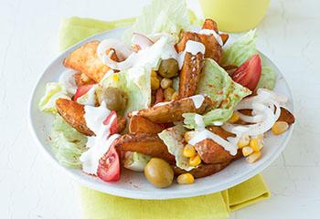Tex-Mex-Salat Foto: © Wolfgang Schardt