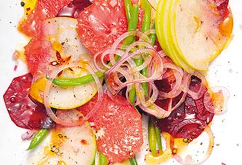 Rote Rüben-Grapefruit-Salat Foto: © Peter Garten