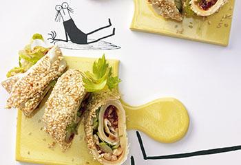 Gemüse-Käse-Tortilla Foto: © Jan-Peter-Westermann
