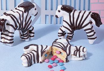 Smartie-Zebras Foto: © Peter Garten