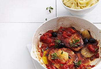 Karreesteaks Pizzaiola Foto: © Thorsten Suedfels