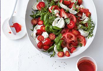 Erdbeer Caprese Salat Foto: © Thorsten Suedfels
