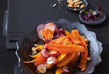 Mango Karottensalat Foto: © Thorsten Suedfels